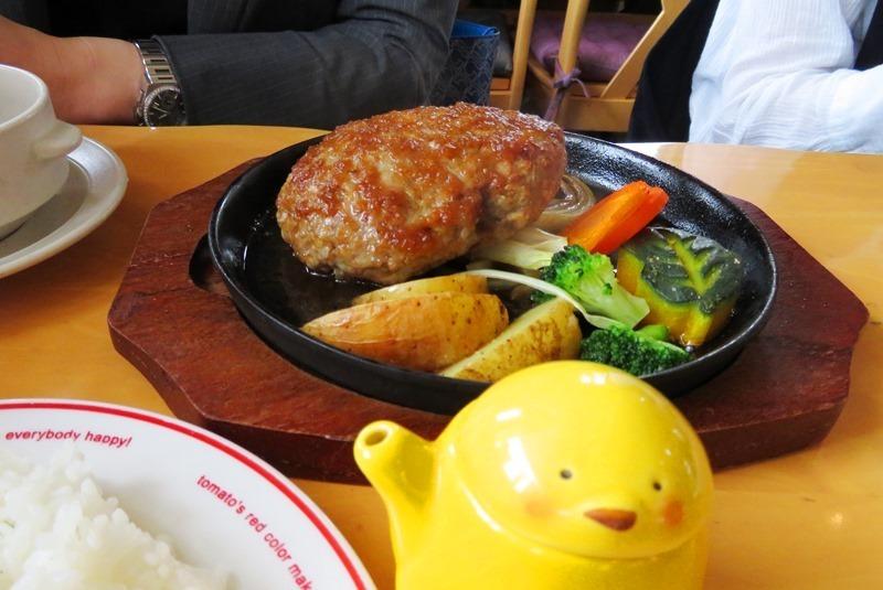 20190706cafeレストラン花薄荷ジュージューハンバーグ.JPG
