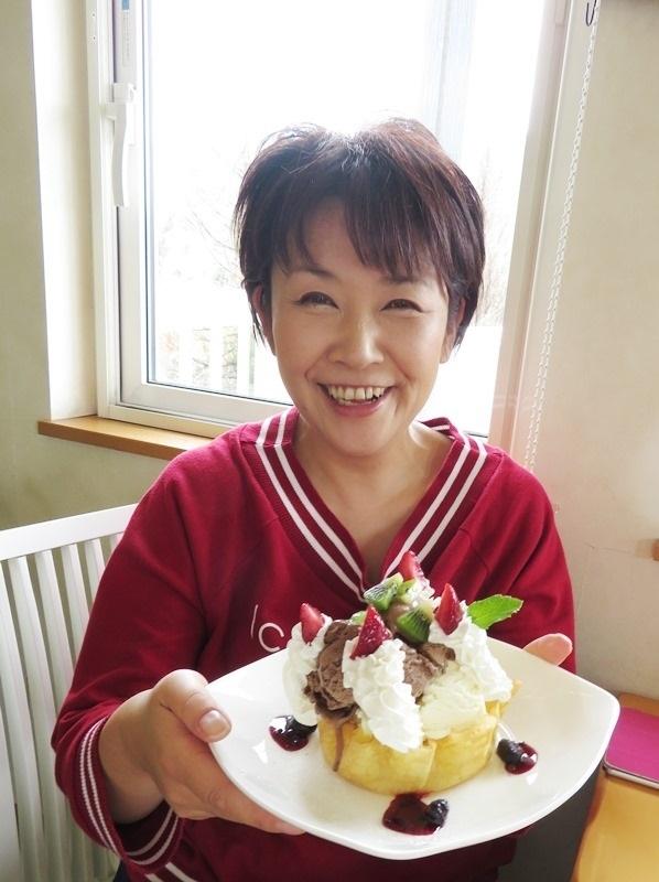 20190706cafeレストラン花薄荷パフェ.JPG